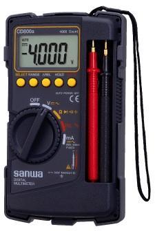gambar Multi tester / multi meter/ AVO meter digital SANWA