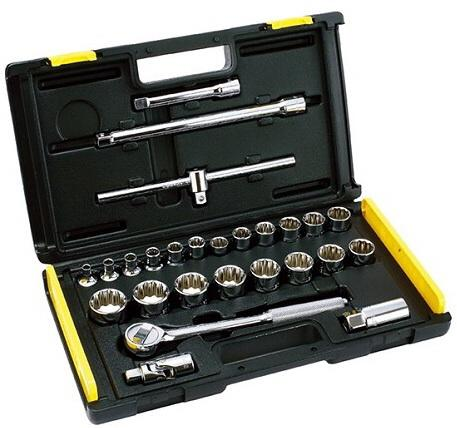 Gambar 1 : Socket wrench set/ kunci sok set 10-32mm 12pt