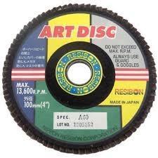 """gambar Flap disc/art disc 4"""" A60 NIPPON RESIBON"""